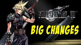 BIG CHANGES For Final Fantasy 7 Remake (Discussion w/Max)