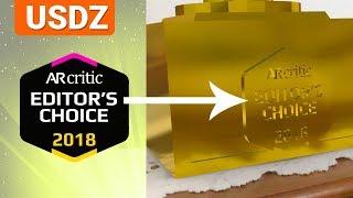 Erstellen der goldene Trophäe: 2D-in den 3D-Bereich zu USDZ & AR Quick Look