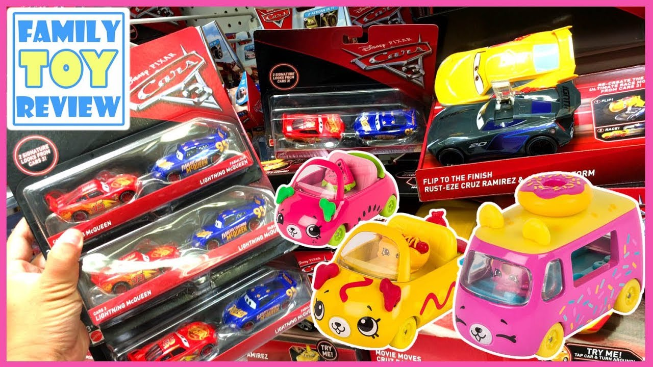 Toys R Us Toy Cars : Disney cars toys r us shopkins cutie toy hunting