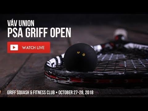 PSA Váv Union Griff Open 2018 - second day