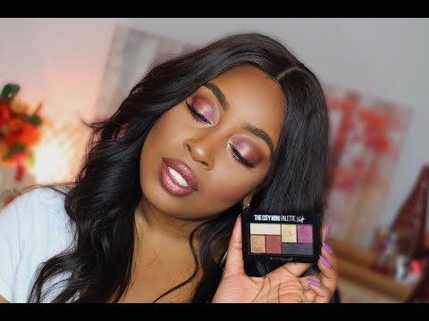 cd969857ce2 Maybelline X Shayla   City Mini Palette Review   TiarraLashay - YouTube