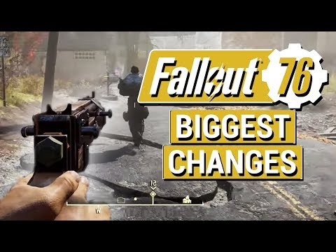 FALLOUT 76: 5 BIGGEST CHANGES From Big Gameplay Reveal!! (VATS, Questing, Perks, and More!)