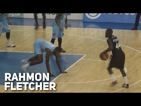 Rahmon Fletcher SHOWS OUT on Way to 2017 BBL Cup Final MVP! Newcastle Eagles vs Glasgow Rocks