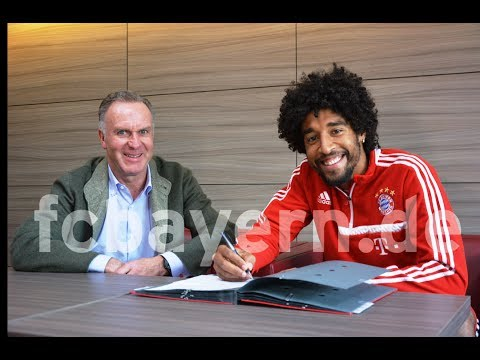 Dante Extends Contract with Bayern Munich