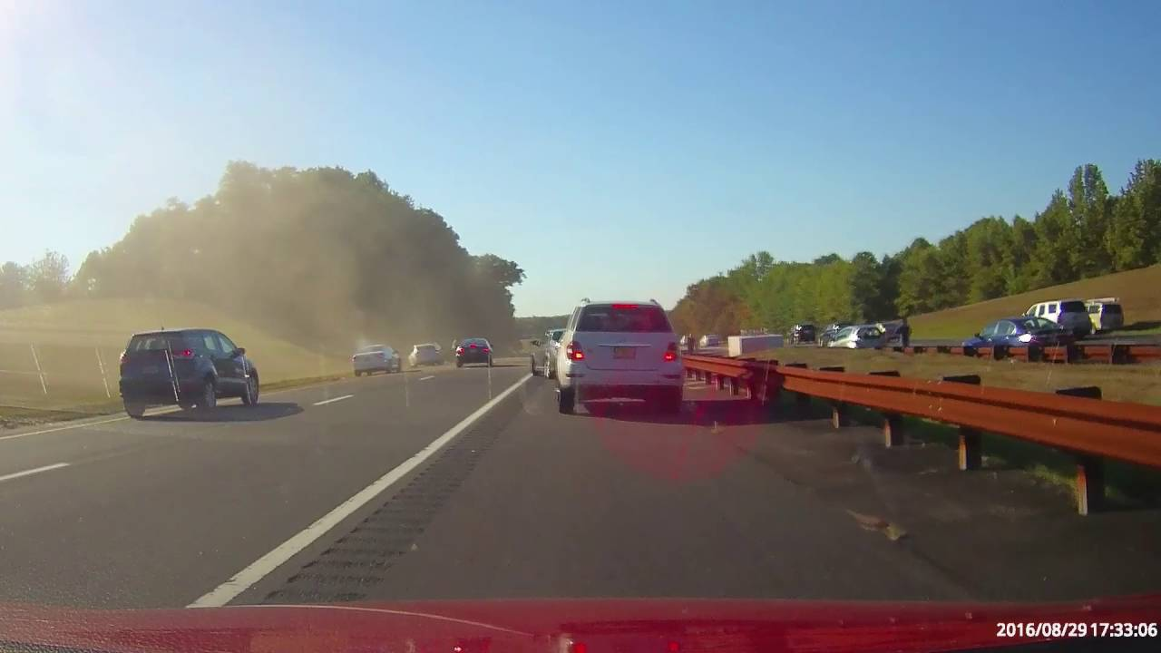 Garden State Parkway Accident 8 29 16 Papago Gosafe 535 Dash Cam Test Youtube