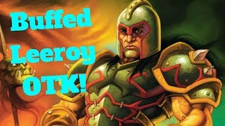 Buffed Leeroy OTK! Abusive Sergeant Combo! [Hearthstone Game of the Day]