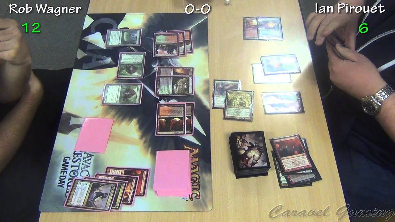 PTQ Theros Manchester Round 8 Game 1 Rob Wagner Vs Ian Pirouet
