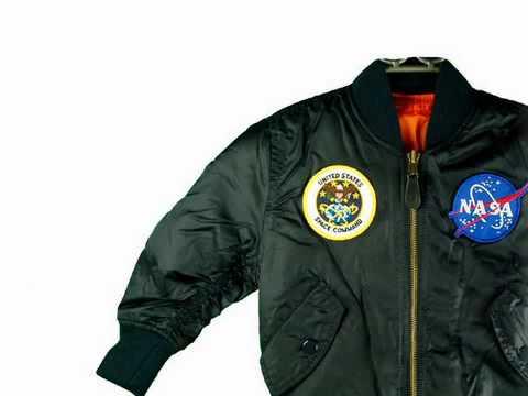 alpha industries kids nasa ma 1 flight jacket coat. Black Bedroom Furniture Sets. Home Design Ideas
