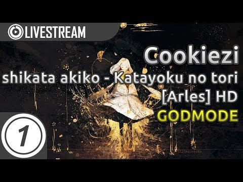 Cookiezi going GODMODE on Katayoku no tori [Arles] +HD 99.32% 2x miss | Livestream w/ chat reaction!