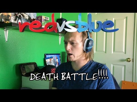 DEATH BATTLE!! Red Vs Blue Season 14 Episdoe 13 Reaction