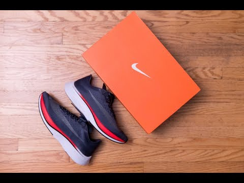 Nike's Answer To Boost? || Nike Zoom Vaporfly 4% Blue Fox Review And On Feet