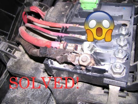 volkswagen fuse box melting    solve  youtube