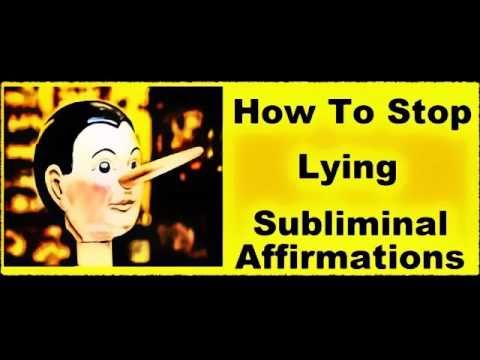 Download Youtube: HOW To STOP Lying & Be HONEST Today - Subliminal Affirmations Recording