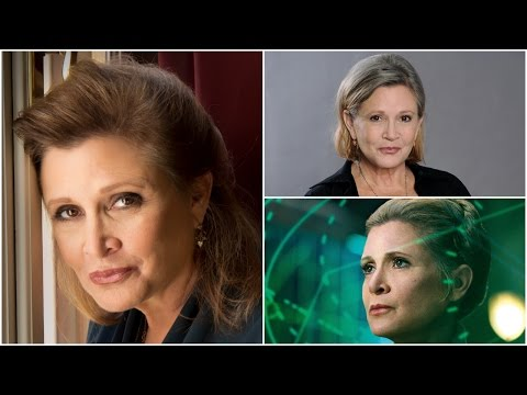 Carrie Fisher: Short Biography, Net Worth & Career Highlights