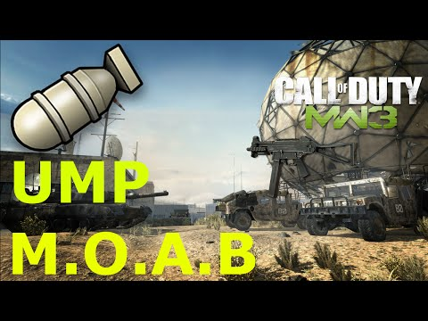 MW3 UMP-45 M.O.A.B.