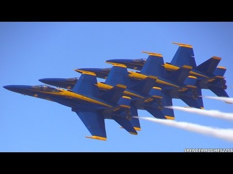 2014 U.S.N. Blue Angels @ LA County Air Show