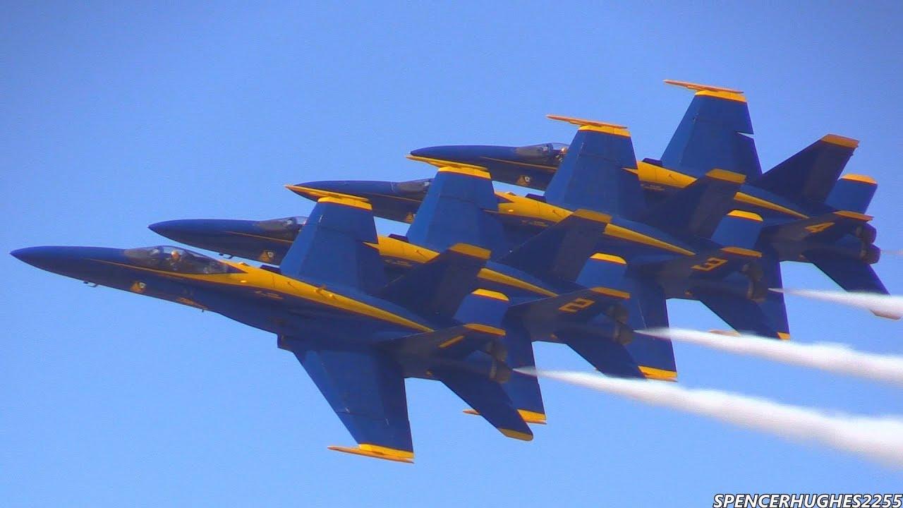 2014 u.s.n. blue angels @ la county air show - youtube