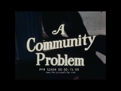 1950s TRASH COLLECTION & WASTE MANAGEMENT VINTAGE FILM by CATERPILLAR INC. 52404