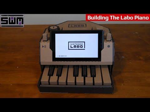 Building The Nintendo Labo Piano | Tech Wave?