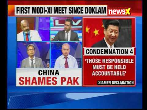 PM Modi holds bilateral meeting with Chinese President Xi Jinping in Xiamen