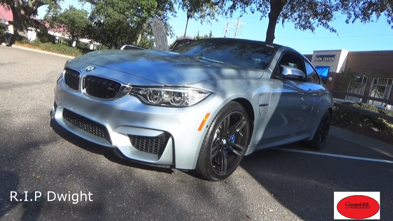 The 2015 Bmw M4 In Silver Youtube