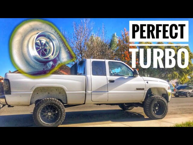 Perfect Turbo For A 600hp Cummins Youtube