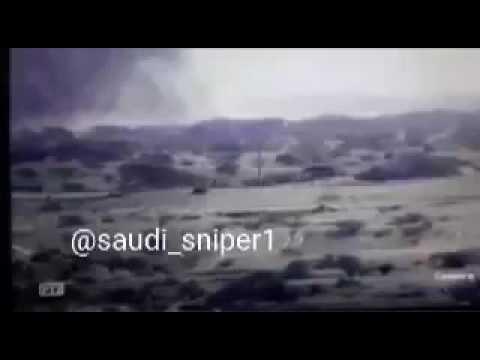 فيديو: طيران التحالف يقصف مركبات حوثية محملة بالأسلحة في الحدود السعودية