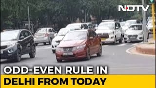 Odd-Even Rule In Delhi From Today As City Gasps Under Choking Smog
