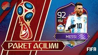 92 MESSI ALDIK EFSANE ARJANTİN 5 KADEME PAKET AÇILIMI FIFA MOBILE