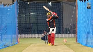 RCB Practice Session: Round 2 with AB de Villiers ...