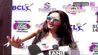 Tanya Sharma | Box Cricket League Holi Party With Ekta Kapoor