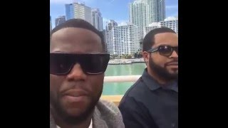 Kevin Hart live with Ice Cube | Facebook Mentions