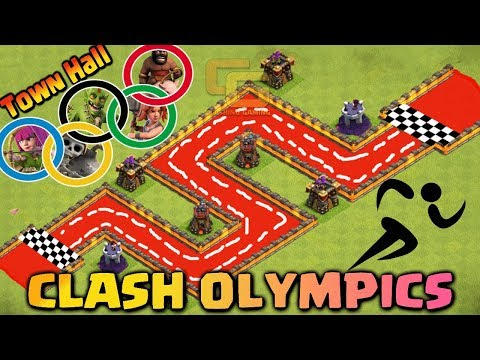 Thumbnail: Town Hall Clash Olympics | Troops Race | Who's the Fastest ? - Clash Of Clans