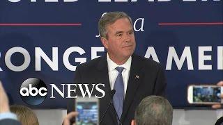 Jeb Bush Suspends His Presidential Campaign