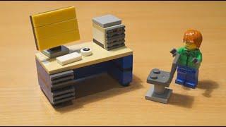 Офисный стол из Лего (How to create a table of Lego)(, 2015-06-10T13:09:44.000Z)
