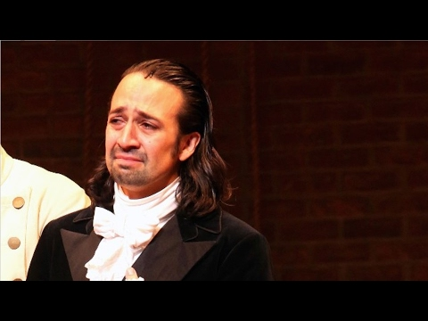 The Hamilt Cast Moves LinManuel Miranda to Tears With Their 2017 Oscars Red Carpet Surprise