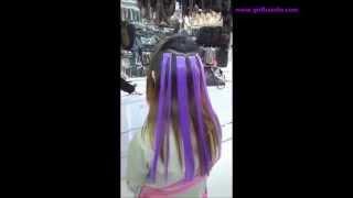 Купить цветной спрей для волос киев