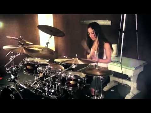 how to play man in the box on drums