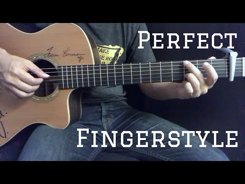 Perfect - Ed Sheeran Fingerstyle Guitar Cover by Toeyguitaree (tabs)