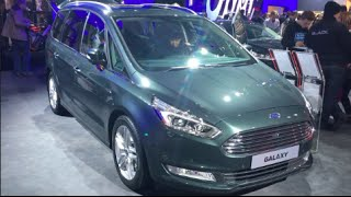 Ford Galaxy 2016 In detail review walkaround Interior Exterior(Hello to MotorCarTube and a new car check. Today we present the 2016 Ford Galaxy, enjoy the detail view in the interior and exterior. Thanks for view!, 2016-02-23T08:21:27.000Z)