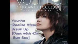 Younha - Realize After Break Up [Duet with Kim Bum Soo]