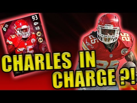 93 OVR JAMAAL CHARLES IN CHARGE?! - MADDEN NFL 17 ULTIMATE TEAM