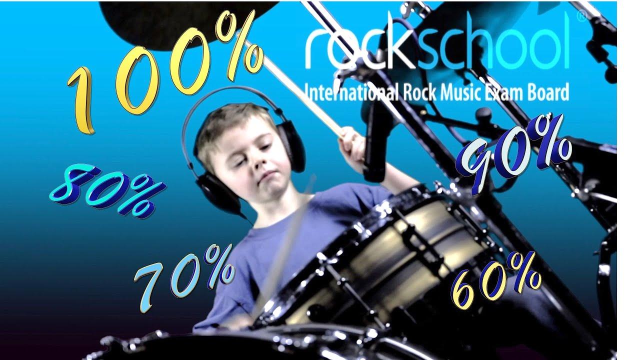 Old Bones Blues - Rockschool Bass Grade 3 Backing Track 60%, 70%, 80%, 90%  & Full Tempo