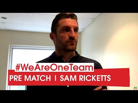 WATCH | Sam Ricketts before Maidstone United