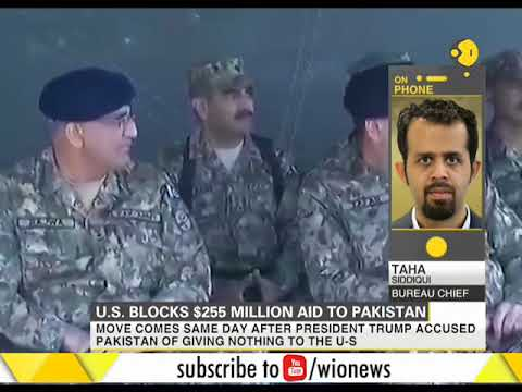 US block military aid to Pakistan