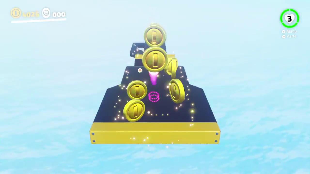 Super Odyssey So Farmt Man Münzen Nintendo Switch Youtube