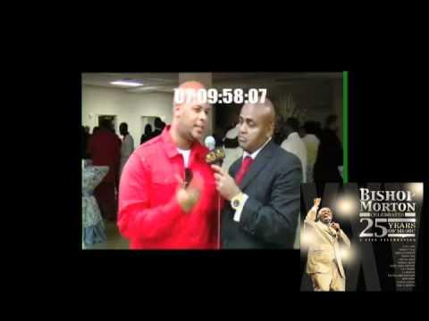James Fortune Interview - Bishop Morton 25th Anniversary Celebration