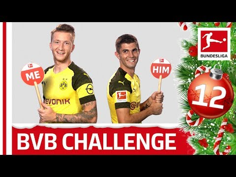 Reus & Pulisic on Swag, Smartphones and More – Me Or Him - Bundesliga 2018 Advent Calendar 12