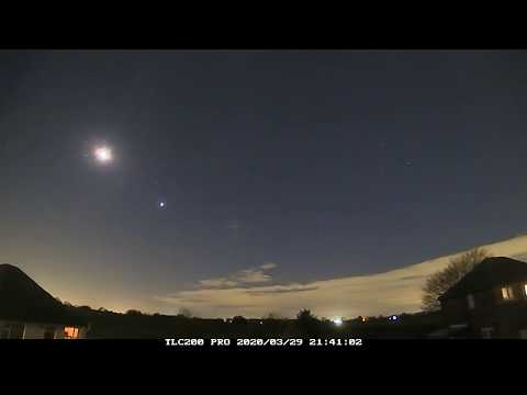 Night Timelapse Of 29th/30th March 2020, Irlam