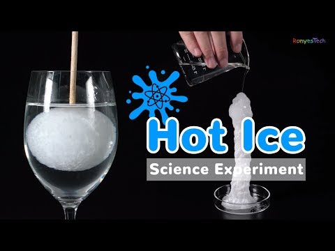 Hot to Do the Hot Ice Experiment